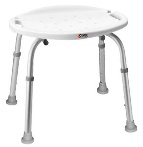 Carex Bath and Shower Chair with Height Adjustable Legs