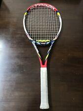 Wilson Blx Steam 100 head 16x20 10.4oz 4 3/8 grip Tennis Racquet