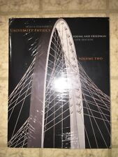 University Physics Vol. 2 by Roger Freedman, Hugh Young, with Mastering Physics