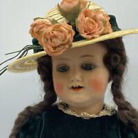 "Antique Kammer & Reinhardt 728 German 12"" Celluloid Head Girl Toddler Wood Body"