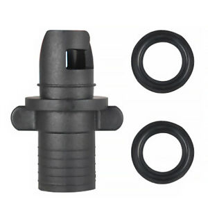 Air Valve Rubber Boat Inflatable Boat Spiral Plastic One-way Valve Pump Adapter