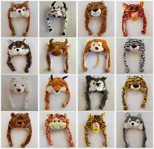 Fancy Animal Winter Warm Hats Party Costumes Halloween Bear/Lion/Wolf Beanie Cap
