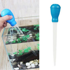 Aquarium Rubber Pipette Water Changer Gravel Cleaner Fish Tank Siphon Tool Fashi