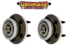 Front Wheel Bearing Hub (Pair Left and Right) for 98-02 Ford Crown Vic Victoria