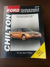 Mercury Sable 1996-2005 Chilton Ford Taurus/Sable Repair Manual