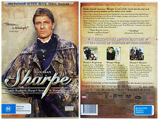 SHARPE: Sharpe's Mission/Regiment/Siege - 2-DVD 2007 PAL R4 oz seller SEAN BEAN