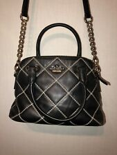 Kate Spade Emerson Place Small maise Black Quilted Handbag