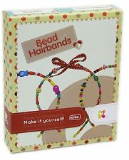 Keycraft Make Your Own Bead Hair Bands Craft Activity Kit For Children