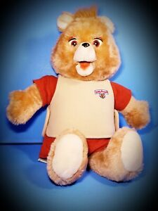 Vintage~1985~ORIGINAL~Teddy Ruxpin Bear With Tape (Doesn't Work)