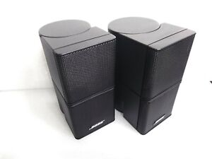 Like N E W PAIR OF 2 BOSE JEWEL Double Cube Speakers Lifestyle Acoustimass cubes