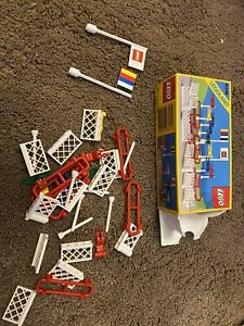 Lego Vintage 6316 Flags And Fences, Box 1988