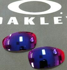 OAKLEY JULIET PRIZM ROAD RED IRIDIUM AUTHENTIC REPLACEMENT CUSTOM CUT LENSES OEM