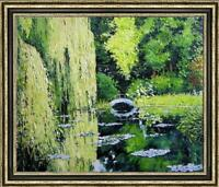 """Hand painted Original Oil Painting Landscape art forest tree on canvas 30""""x40"""""""