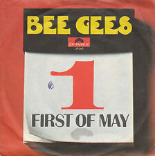"""7"""" 45 TOURS HOLLANDE BEE GEES """"First Of May / Lamplight"""" 1969"""