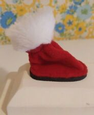 Holiday Time Keeps Paws Warm Clean & Dry Winter Simply Dog Fleece Booties Small