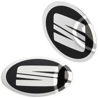 1 SEAT Nabendeckel Felgen Aufkleber 64 mm Alufelgen Emblem Logo Felgenaufkleber