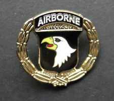 101ST ARMY AIRBORNE DIVISION WREATH LAPEL HAT PIN BADGE 1 INCH