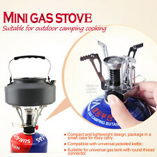 Ultralight Mini Portable Backpacking Gas Canister Outdoor Camp Stove Burner