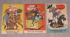 3 Stück Mosaik Digedags Heft Nr. 182, 183. 186 Comics Serie Sammlung