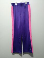 Nike Jordan Jumpman Girls Size M (10-12 Years) Purple Pink Athletic Sweatpants