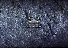 2017 MY Jeep Wrangler 07 / 2016 catalogue brochure