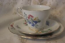Royal Standard Country Lane Tasse et Soucoupe Cup Saucer Side Plate Trio