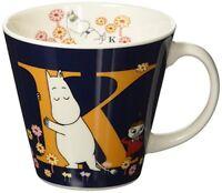 YamaKa store Moomin initial mug K MM630-11K from Japan New