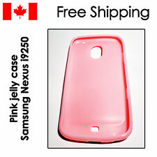 Pink phone case jelly cover protector for Samsung Galaxy Nexus i9250