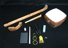 Nagauta Shamisen DIY kit with Bachi, Yubikake, Doukake, Dou-rubber!!