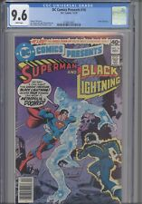 DC Comics Presents #16 CGC 9.6 1979 DC Black Lightning App Denny O'Neil Story