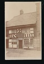 Worcestershire WORCESTER King Charles House Cornmarket RP PPC c1910/20s?