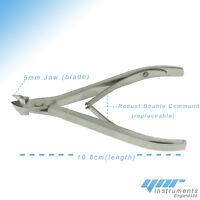 Ynr Pro Cuticule Coupeur Coupe-Ongles Pinces Solvant Ongle Techniciens Manucure