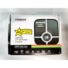 """Polaroid Pd-E53H Hd 2"""" Screen Dashcam 8Gb MicroSd Card (Red)"""