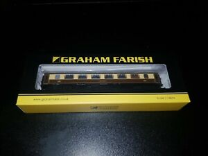 N Gauge Graham Farish 374-202 BR Mk1 Pullman Parlour 1st Coach Ruby cream boxed