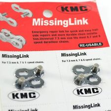 KMC RE-USABLE Missing link 6/7/8 Speed (2 pairs) , Dark Blue