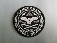 Cancer Bats Sew or Iron On Patch