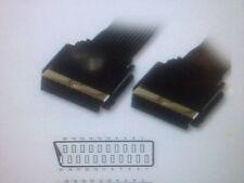 3 M Piatto Placcato Oro Cavo Scart 21Pin completamente schermato Plasma LCD TV VCR DVD Video