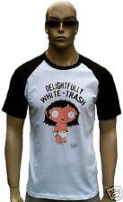 Bravado Official FAMILY GUY Merchandise DELIGHTFULLY WHITE TRASH BABY T-Shirt M