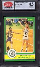 1984 STAR CO. CELTICS CHAMPS #7 LARRY BIRD (BOSTON 124 - LA 121) SCD 8.5 NM/MT+