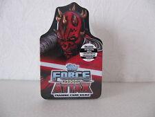 Star Wars Force Attax Serie 3 Tin Box Clone Wars (Trickfilm) Deutsch