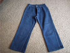 "LEE Flare Leg 4 Pocket Cotton Jeans 30X27 Short  Women's by Waist 30"" #2831"