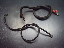 96 1996 POLARIS EXPRESS 300 FOUR WHEELER ENGINE BATTERY CABLE CABLES NEGATIVE