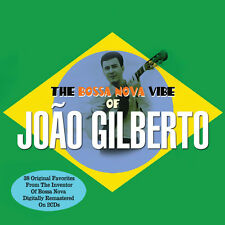 Joao Gilberto THE BOSSA NOVA VIBE OF Best Of 38 Songs REMASTERED New Sealed 2 CD