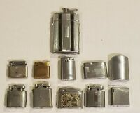 Vintage Lighter Lot 11 PCS. EVANS LIGHTER / CIGARETTE CASE RONSON KREISLER ETC..