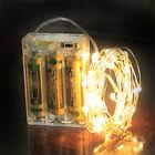 Deko Warmweiß Led Lichterkette AA Batterie 100 Lämpchen Batteriebetrieben 10m 7
