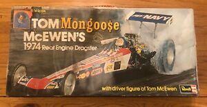 Revell MONGOOSE 1974 Rear Engine Dragster Model - 1/16