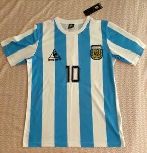 T-shirt Football Argentina Maradona 10 New with tag