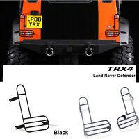 Rücklicht  Abdeckung Lampe Guard Cover 2Tlg Für Traxxas TRX4 Land Rover Defender