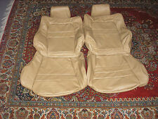 Custom made 1991-1999 Mitsubishi 3000GT/Stealth Genuine Leather Seat Cover Tan