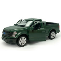 1:36 Ford F-150 Pickup Truck Model Car Alloy Diecast Toy Kids Matte Green Gift